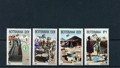Botswana 1995 MNH United Nations 50th Anniv 4v Set FAO WFP UNDP UNICEF Stamps