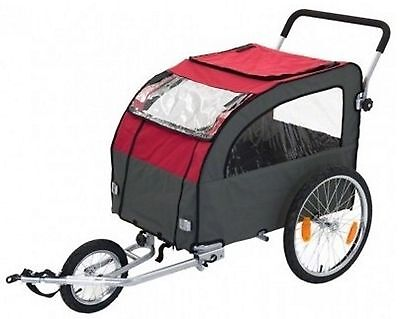 Dog Bike Trailer Jogging Kit Rides Tour Older Dogs Puppies Mobility Issues 40kg