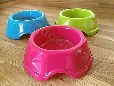 2 x Cat Bowls Robust High Quality Non-Slip In Colour Options