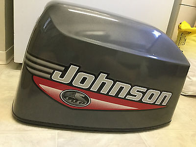 2000 Johnson 35Hp Top Cowl Cowling, Engine Cover