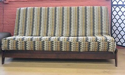 Premium Heavy Texture Futon Cover I4 - Handmade in USA - All Sizes