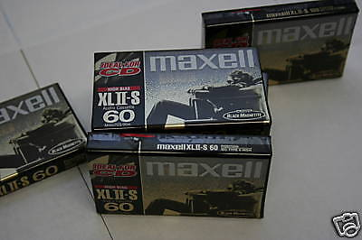 Maxell XLII-S 90 Audio Cassette Tapes New Factory Seal Lot