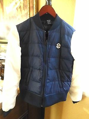 acabe7de62 NWT True Religion Womans Color Block Puffer Reversible Jacket Size XS NWT   399