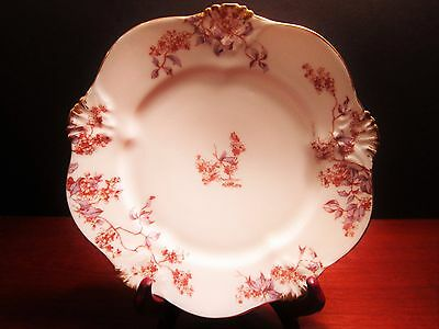 Bawo & Dotter Elite France Hand Painted Limoges Plate c. 1880-1891 Multi Avail