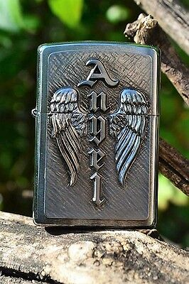 Zippo Lighter - Wing of an Angel Emblem - European - Wings - Devil - 2.002.572