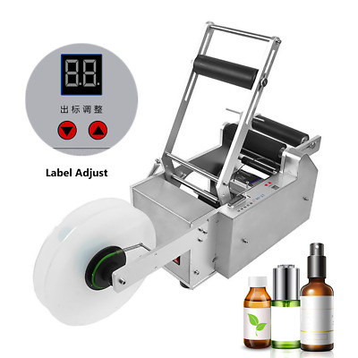 Lt-50S Semi-Automatic Round Bottle Labeling Machine Labeler Machine Top Quality