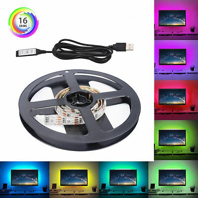 Usb rgb led light strip kit mini controller tv backlight party decor usb rgb led light strip kit mini controller tv backlight party decor 5v 50cm aloadofball