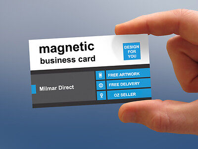 1000 Magnetic Business cards
