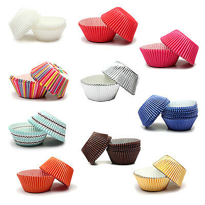 Paper Cake Cup Cases Liners Muffin Kitchen Baking Wedding Party BEB