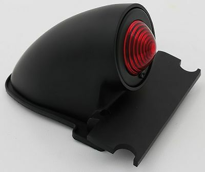 Sparto Taillight Die-Cast Black Suit Bobber or Custom Application