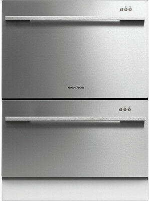 NEW Fisher & Paykel DD60DDFX7 DishDrawer       Double Dishwasher