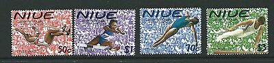Niue Sg881/4 2000 Olympic Games   Mnh