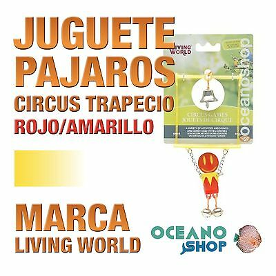 Living World Circus Trapecio Rojo/amarillo