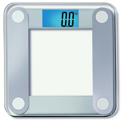 Precision Digital Bathroom Scale Extra Large Lighted Display 400 lbs Capacity