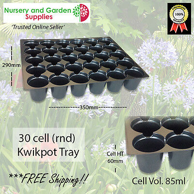 30 cell (round) Kwikpot plastic Seedling Propagation Plant Tray