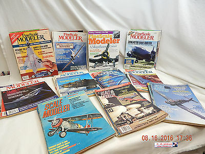 Scale Modeler-Fsm Magazines! Various Titles-Years-Issues! Large Lot-50+! As Is!