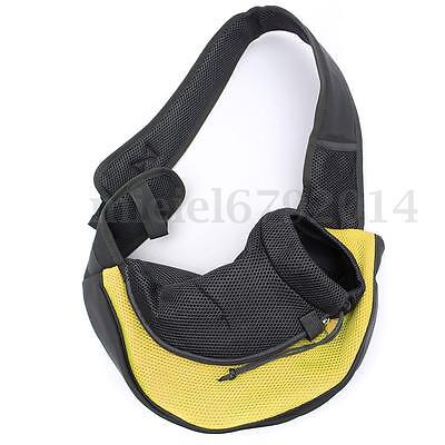 Large Pet Dog Cat Puppy Carrier Travel Tote Shoulder Sling Bag Holder Backpack