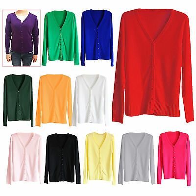 Autumn Winter Cashmere The Cardigan Knitted Sweater Women V-neck Long Sleeve BEB