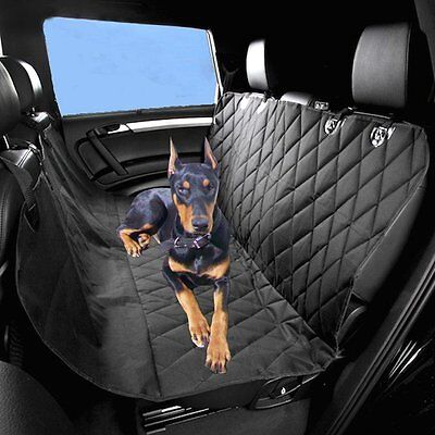 2016 2 In 1 Waterproof Car Rear Back Seat Cover Pet Dog Protector Boot Mat Liner