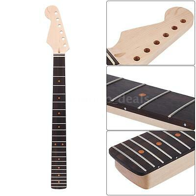 22 Fret Replacement Maple Neck Rosewood Fingerboard for Strat Guitar X6R1