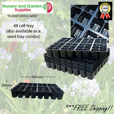 48 cell Kwikpot plastic Seedling Propagation Plant Tray