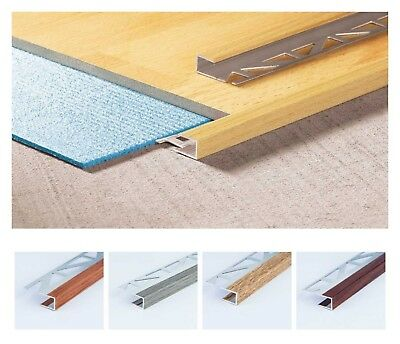 LAMINATE FLOOR EDGE PROFILE TRIMS THRESHOLD DOOR STOPS LAMINATE STOP ENDS 100 cm