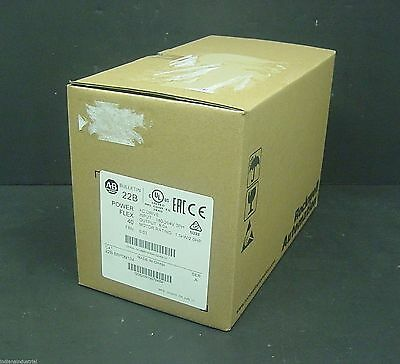 2015 New Sealed Allen Bradley 22B-B8P0N104 PowerFlex 40 AC Drive 2HP 240V 5A 3PH