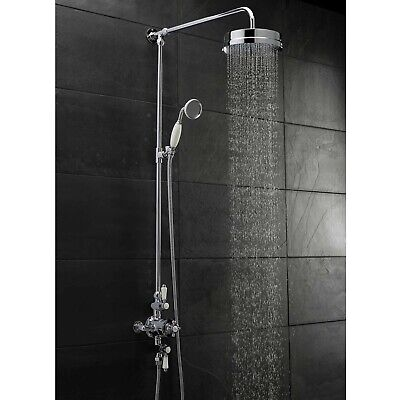 HUDSON REED TOPAZ Triple Exposed Mixer Shower with Shower Kit + ...