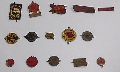 Vintage Lot of 15 Tobacco Tags Lot 7