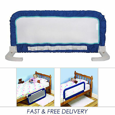 Portable Safety Bed Rail Safety 1st Compact Fold Infant Baby Toddler Bed Guard