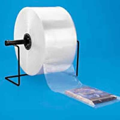 """3 Mil Clear Poly Tubing 8"""" inch x 1,500' Feet LDPE Plastic Heat Sealable Roll"""