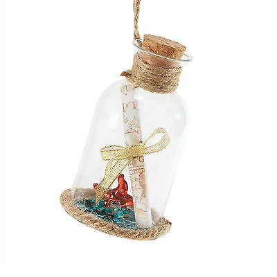 4053977 Coast Love Letter Message in Bottle Christmas Dept 56 Holiday Ornament