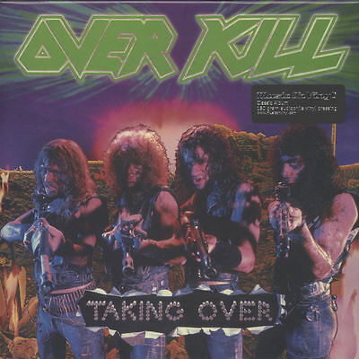 Over Kill - Taking Over - Sealed 180g Vinyl LP