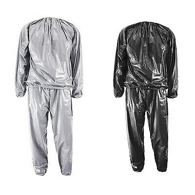 Heavy Duty Fitness Weight Loss Sweat Sauna Suit Exercise Gym Anti-Rip BEB