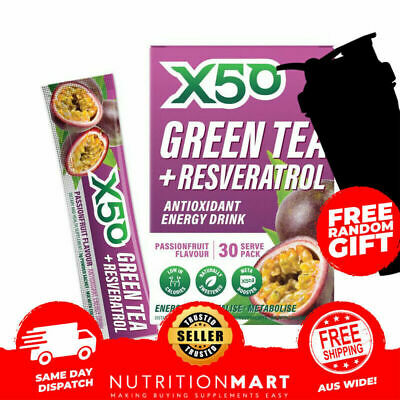 Green Tea X50 Passionfruit Tribeca Health Detox Tea + Shaker