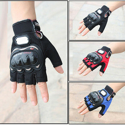 Motocross Racing Pro-Biker Cycling Motorcycle Protective Half Finger Gloves