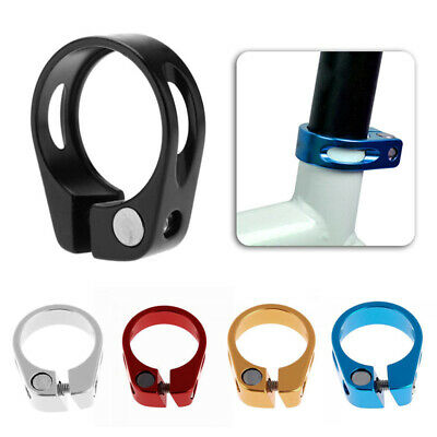 31.8mm 34.9mm Aluminum Alloy MTB Cycling Bike Bicycle Saddle Seat Post Clamp New