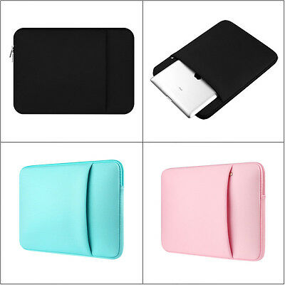 """For 15.6"""" 15"""" HP Dell Lenovo Asus Toshiba Acer Sony Laptop Carry Sleeve Bag Case"""
