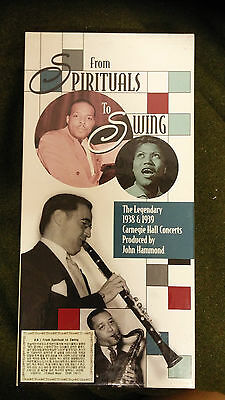 1999 From Spirituals to Swing 1938 & 39 Carnegie Hall Concerts Album Music CD