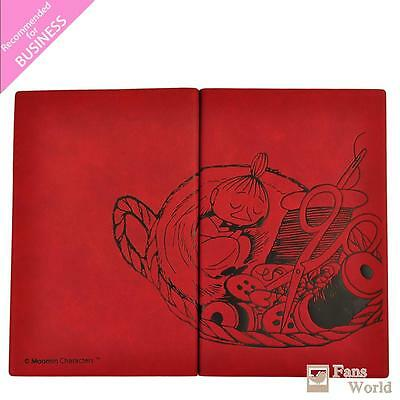 2017 Moomins Schedule Book Weekly Planner A5 Leather Embossing for BUSINESS