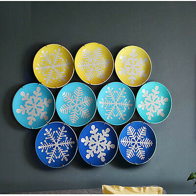New 10Pcs  Plate Hanger Dish Display Hangers Wall Decor For 12'' Plates Dishes