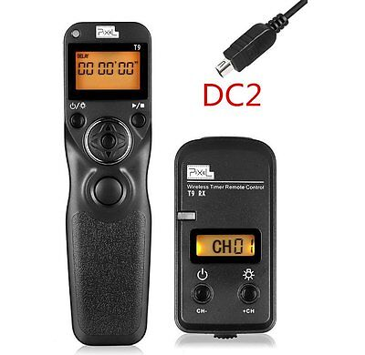 PEXEL Wireless Timer Remote Control Shutter TW283/DC2 for Nikon D3100 D7200 D750