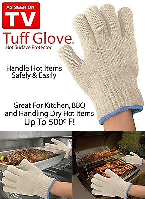 Tuff Gloves As Seen on TV Oven Hot Surface Protector Withstands 500 Degree