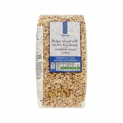 Mixed Quinoa with Bulgar Wheat Waitrose Love Life 500g