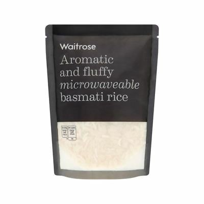 Microwavable Basmati Rice Waitrose 250g