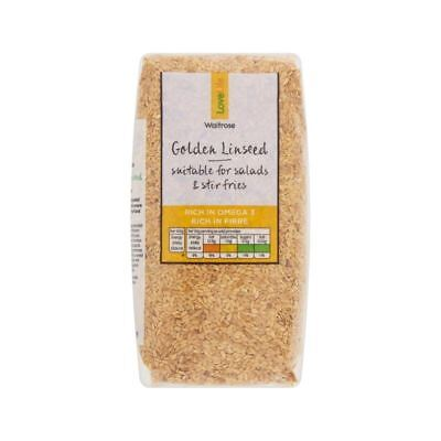 Golden Linseed Waitrose Love Life 500g