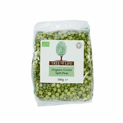 Tree of Life Organic Green Split Peas 500g