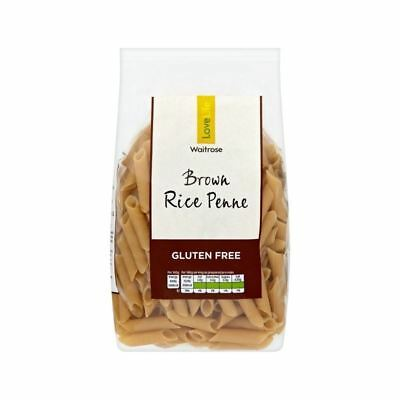 Gluten Free Brown Rice Penne Waitrose Love Life 500g