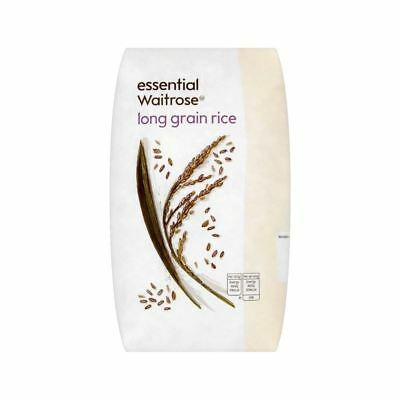 Long Grain Rice essential Waitrose 1kg