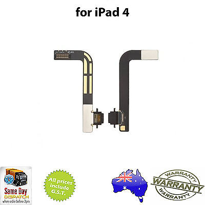 for iPad 4 - Charging Port  / USB Charger Dock - Replacement Repair Part